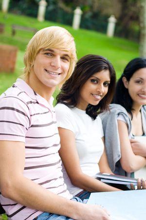 happy students Stock Photo - 5101808