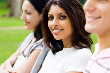 indian college student: indian student  Stock Photo