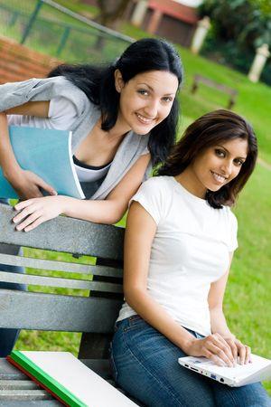 beautiful classmates Stock Photo - 5101772