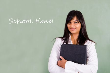 indian teacher photo