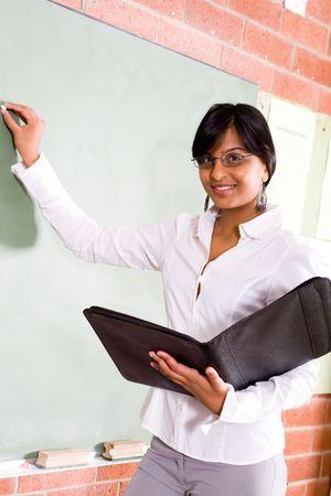 indian teacher Stock Photo - 5126542