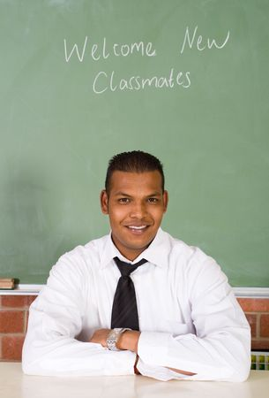 male teacher photo