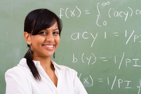 indian teacher Stock Photo - 5125247