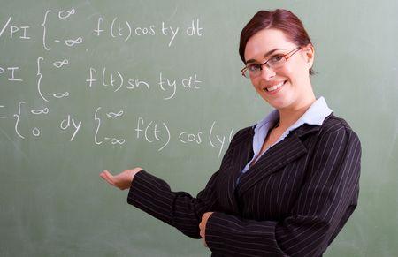 teaching maths Stock Photo - 5125217