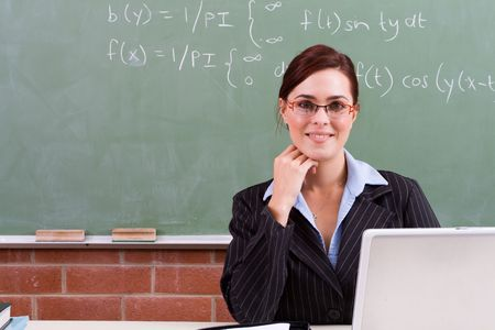 elegant teacher Stock Photo - 5125212