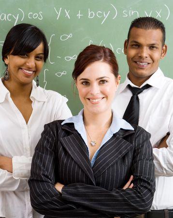 enseignants: smart maths enseignants Banque d'images