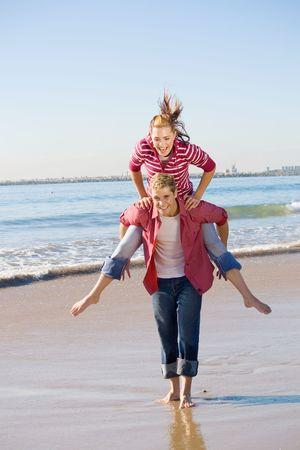 youthful couple photo