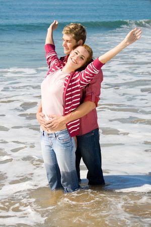 carefree couple photo