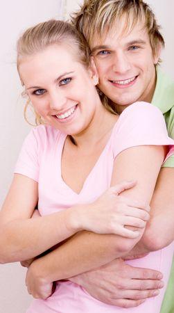 przytulanie para Zdjęcie Seryjne - 5503543