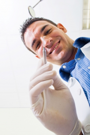 dentist at work Stock Photo - 5715919
