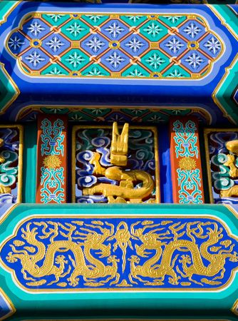details of ancient chinese building Stock Photo - 6580965