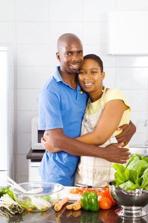 happy vegetarian couple