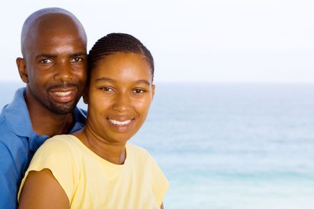 portrait of african american couple Stock Photo - 6656175