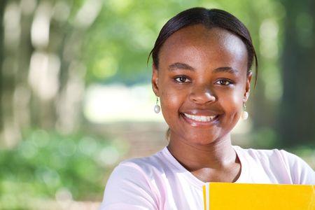 beautiful african student Stock Photo - 6652258