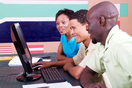 computer studies class Stock Photo - 6639031