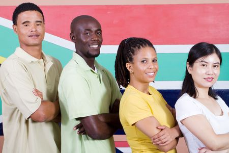 young south african people photo