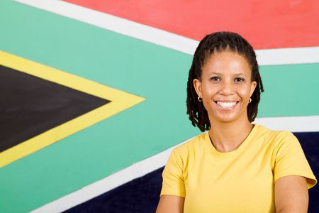 south african woman photo