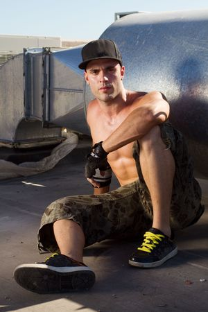young hot hip hop dancer Stock Photo - 6676590