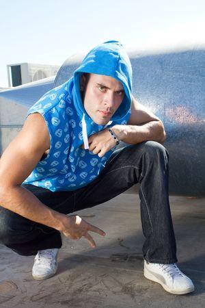 hip hop style man photo