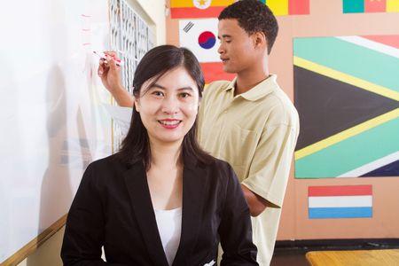 chinese teacher  photo