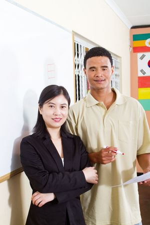 teacher and adult student photo