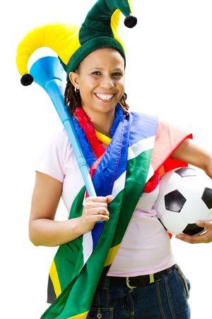 pretty soccer fangirl photo