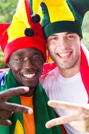 fandom: happy sports fans