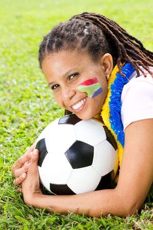 fandom: pretty female south african soccer fan
