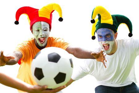 fanatical: football hooligans