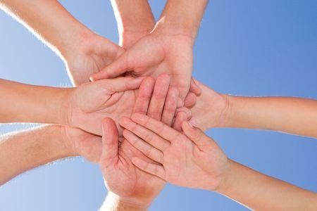 huddle: family teamwork