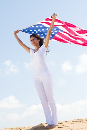 young womans american dream photo