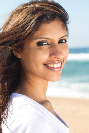 pretty modern indian woman photo
