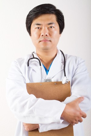 male asian doctor photo