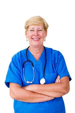 pretty mature doctor  photo