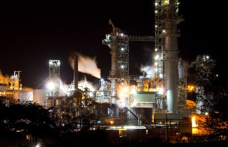industrial night view Stock Photo - 7219833