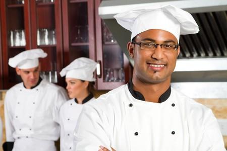 happy indian chef Stock Photo - 7328294