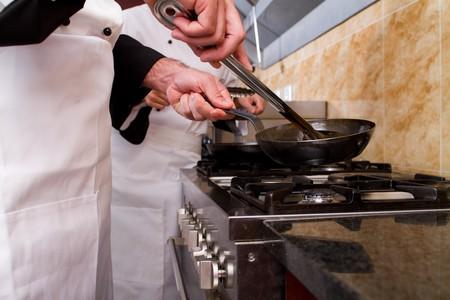 cocinas industriales: cocineros profesionales de cocina
