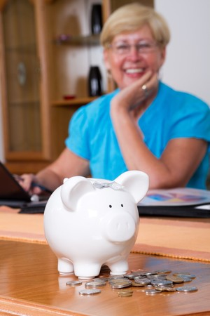retirement savings Stock Photo - 7452550