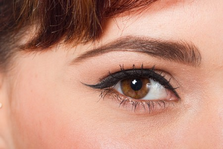 partes del cuerpo humano: ojo  Foto de archivo