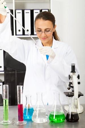 university science student Stock Photo - 7517052