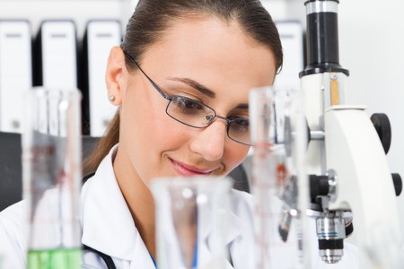 college science student Stock Photo - 7517038