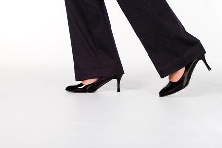 businesswomans shoes photo
