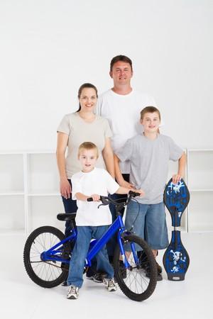 familia feliz  Foto de archivo - 7608263