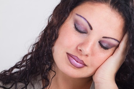 tired woman Stock Photo - 7608284