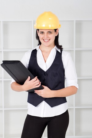 business construction woman photo
