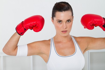 young female boxer Stock Photo - 7639062