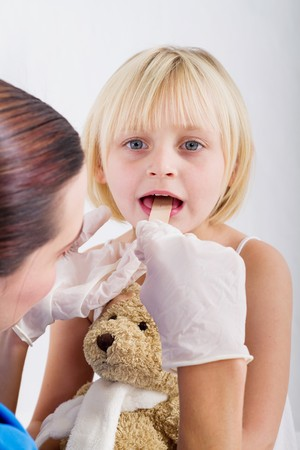 pediatric checkup Stock Photo - 7940104
