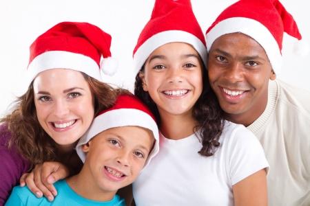 portrait of happy christmas family Stock Photo - 8112108