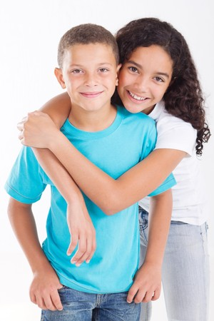 brat: Loving młodych brat i siostra