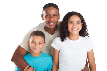 happy indian family photo